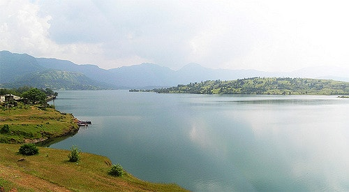 The Bhandardara lake is a famous tourist attraction
