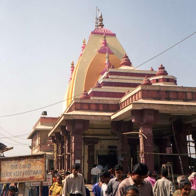The Mahalakshmi Temple at Bhulabhai Desai Road