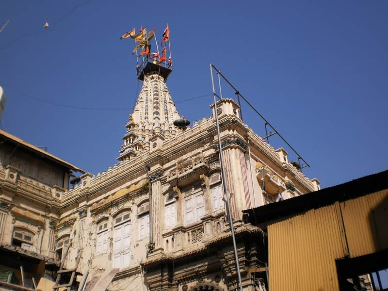 The Mumbadevi Temple