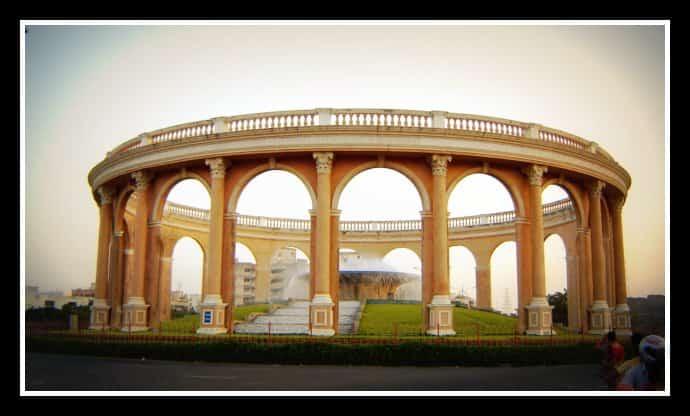 The Utsav Chowk at Kharghar