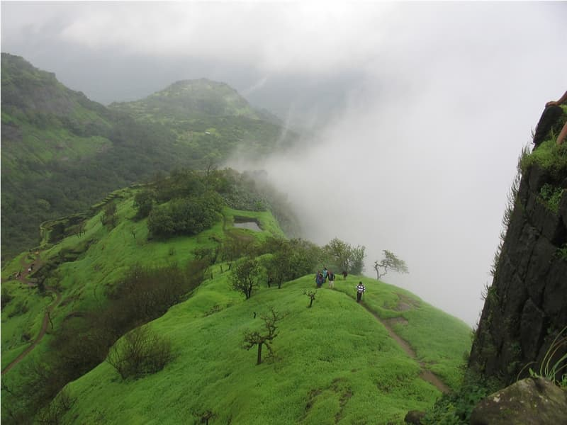 The breathtaking landscape of Lonavala