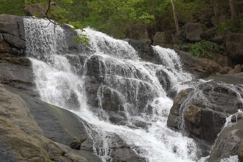 The lowest waterfall at Chinchoti