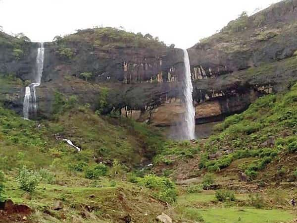 The waterfall in Kharghar is perfect for a dip
