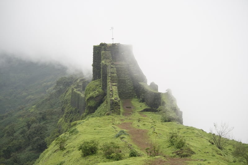 Trekking to Raigad Fort