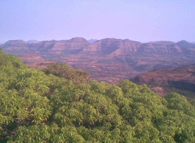 View from Harishchandragad