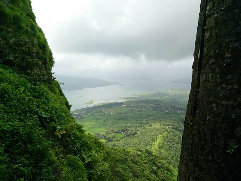View from Tikona Fort