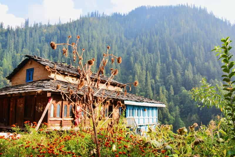 Village Near Kheerganga