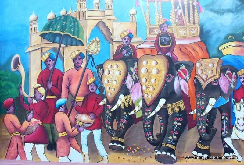 Dusshera Procession, Mysuru Street Art, Karnataka