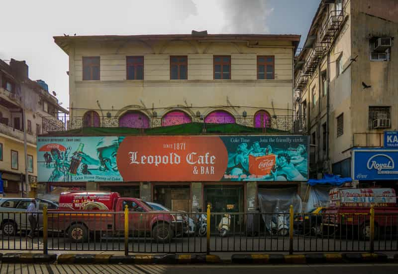 Leopold Cafe on Colaba Causeway
