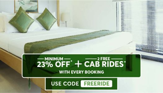 Book Your Stay Through Treebo Hotels App And Get a Free Ola Ride