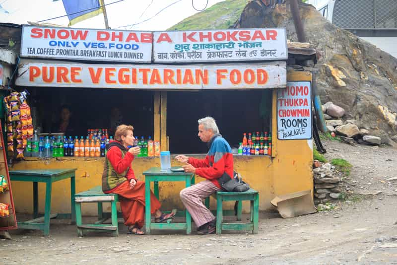 Food Options Near Kheerganga