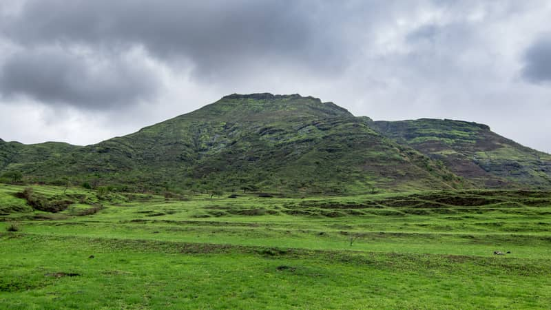 A panoramic view of Malshej Ghat