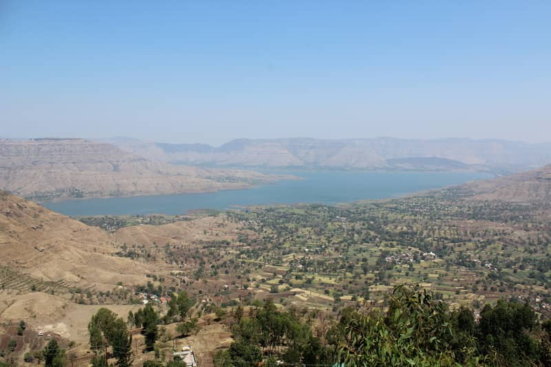 The view from Panchgani