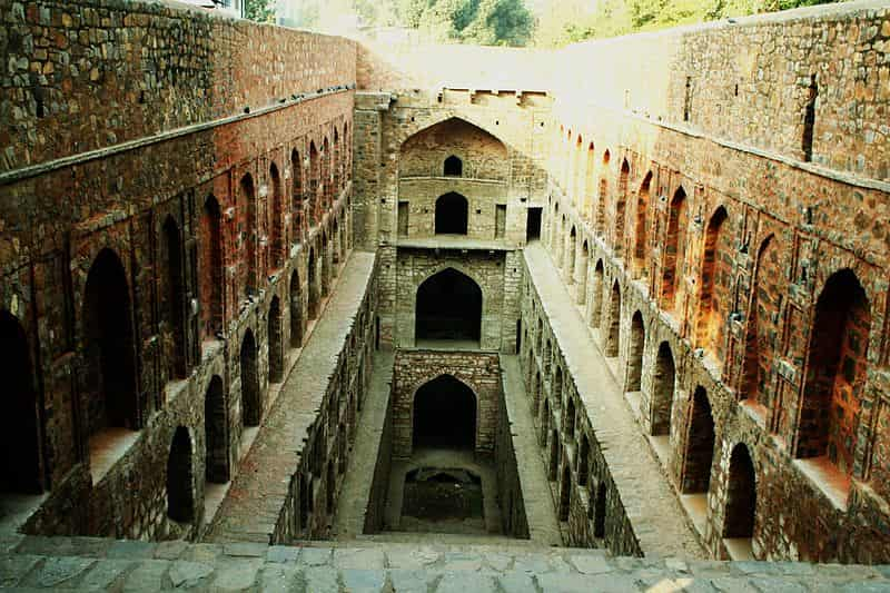 Agrasen ki Baoli is popular with tourists, but also haunted