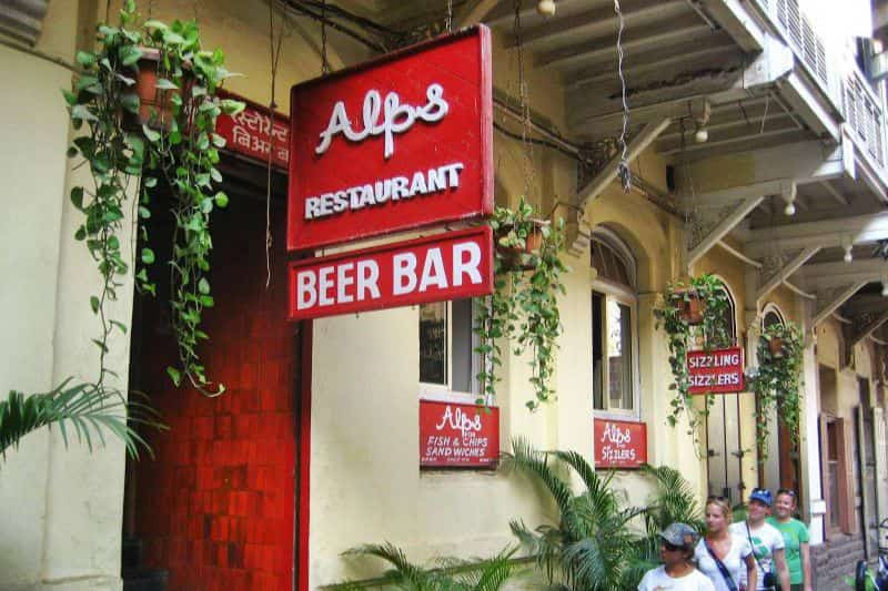 Alps Restaurant and Beer Bar, Colaba