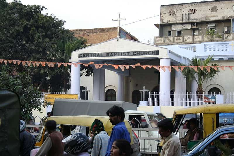 Central Baptist Church is one of the oldest churches in Delhi