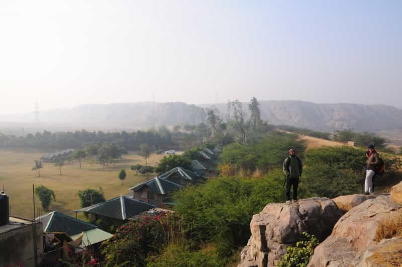 Dhauj Camps, Haryana