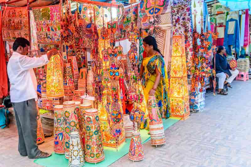Spend the weekend shopping at Dilli Haat