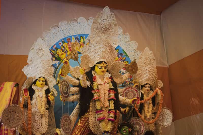 Durga Puja at Durgabari Mandir