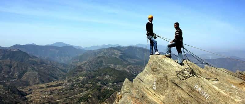 Enjoy rock climbing in Mukteshwar