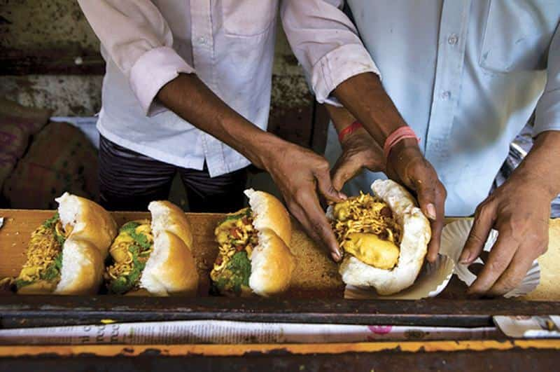 For a hearty snack visit Pops Jumbo Vada Pav