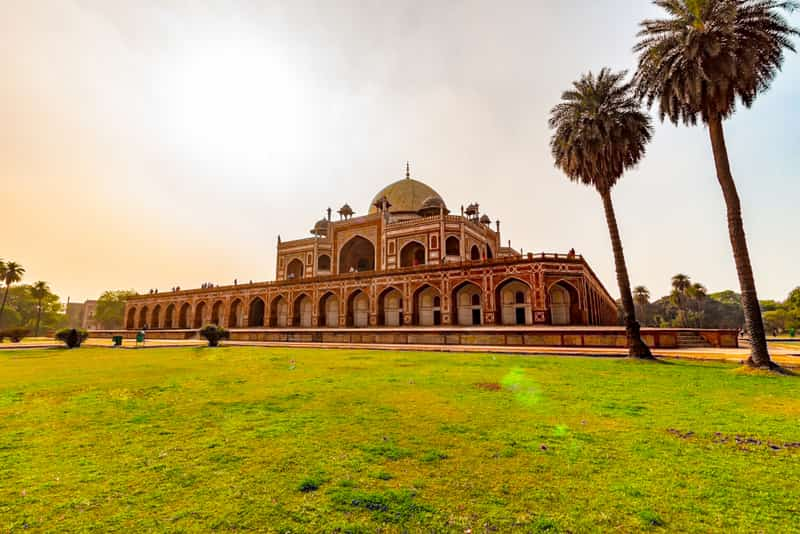 Humayun's Tomb is a UNESCO World Heritage Site