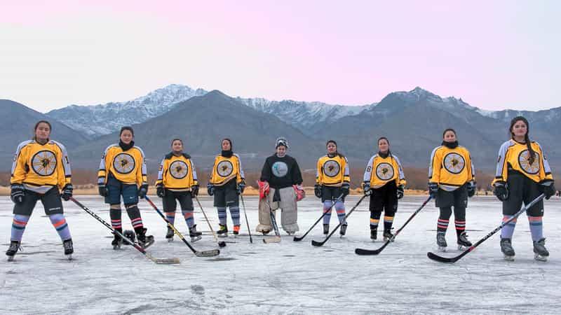 Ice Hockey- Ladakh