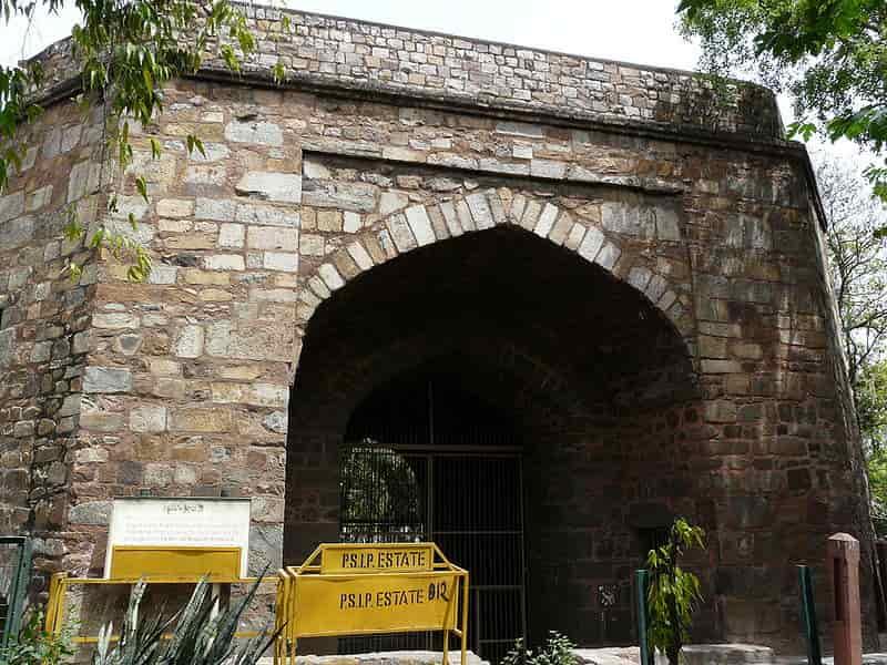 Khooni Darwaza is where the heirs of Bahadur Shah Zafar were shot