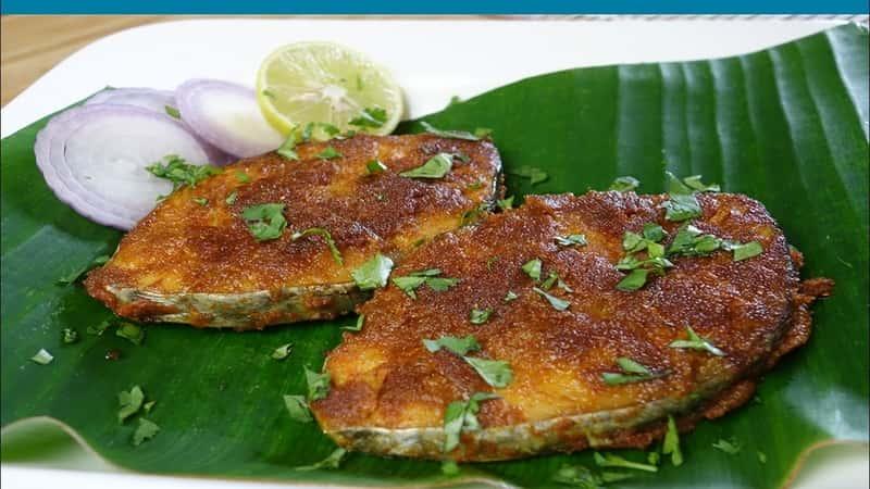 Kingfish, Seerfish Masala Fry