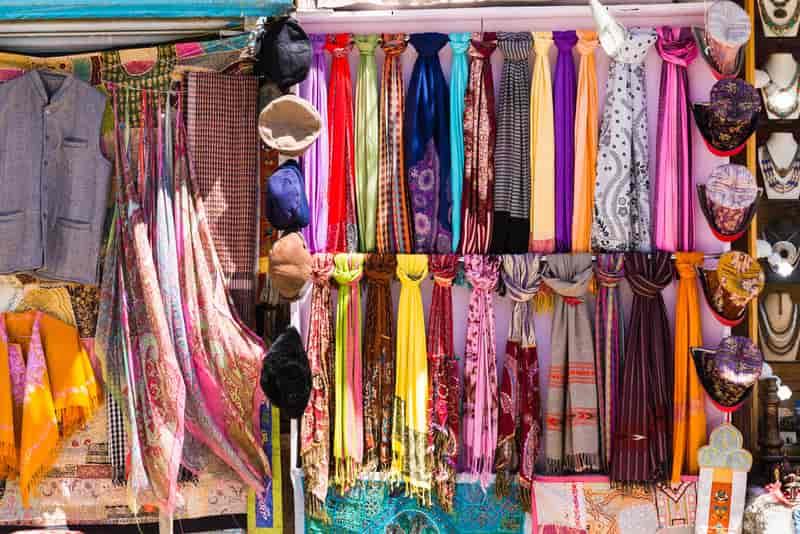 Ladakh Local Market for Shopping
