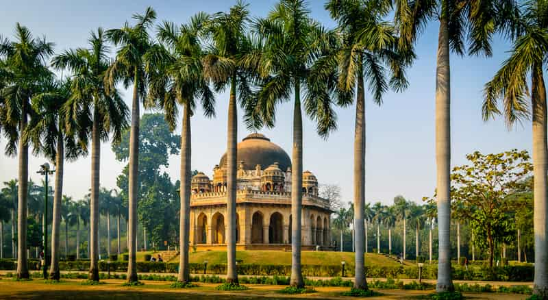 Mohammed Shah's Tomb in Lodhi Garden