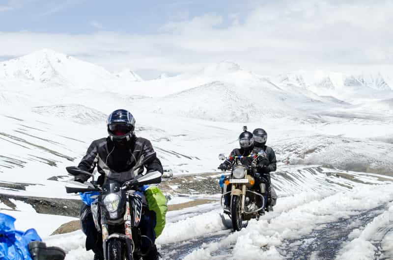Motor Biking in Ladakh