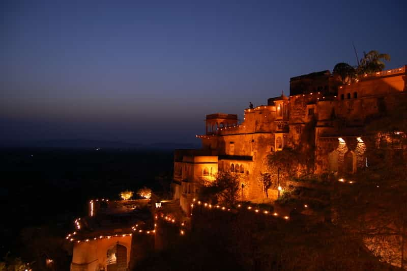 Neemrana Fort in Rajasthan
