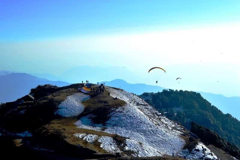 Paragliding at Bir
