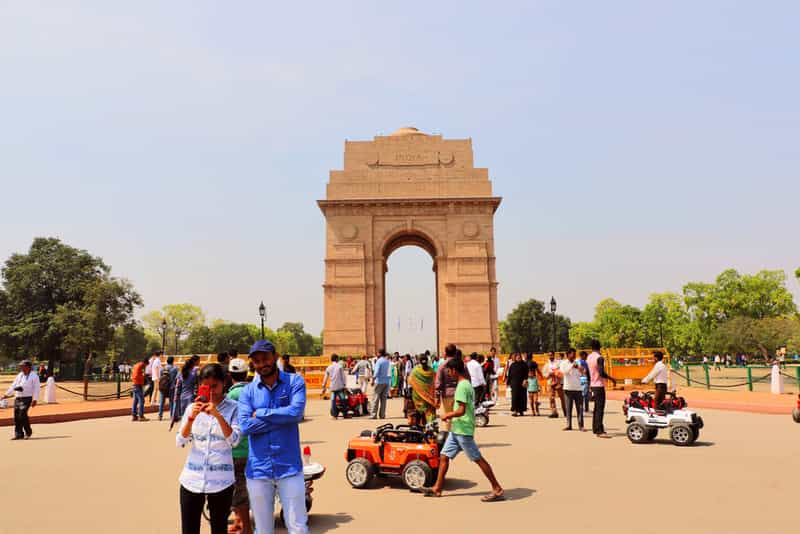 Picnic at India Gate