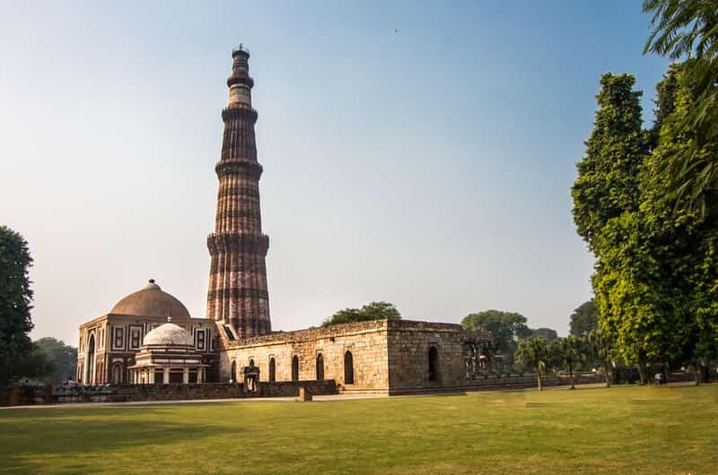 Qutub Minar was built in 1193