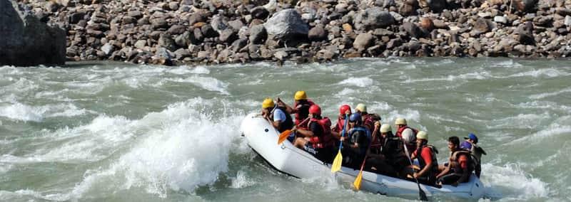 Rafting in Vrindavan