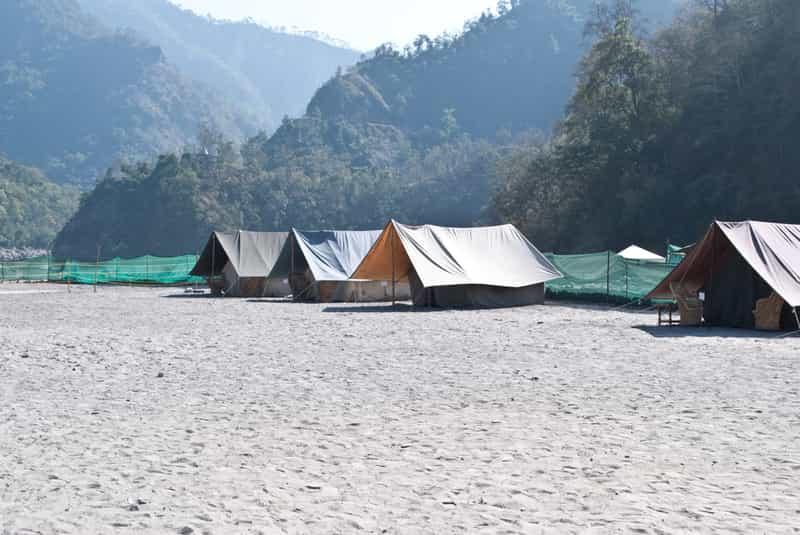 Ravers Beach Camp, Rishikesh