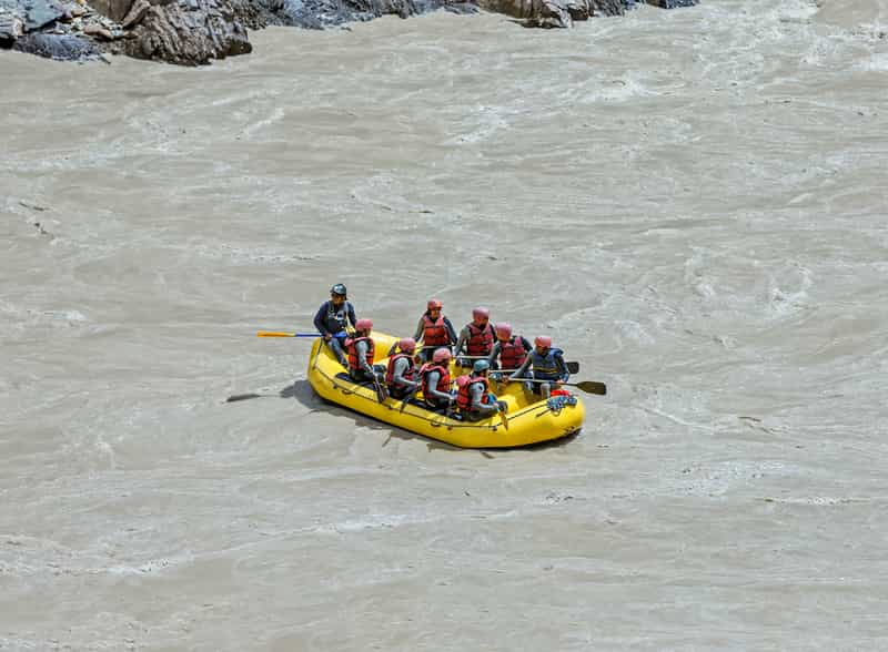 River Rafting at Zanskar River