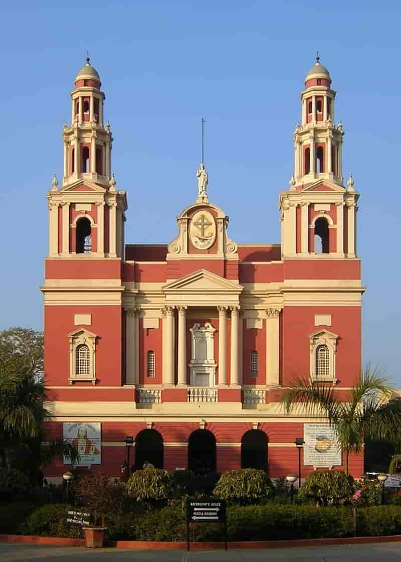 Sacred Heart Cathedral was the second Catholic church in Delhi