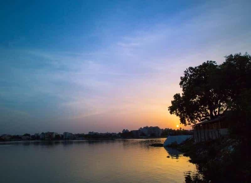 Saroor Sagar Lake
