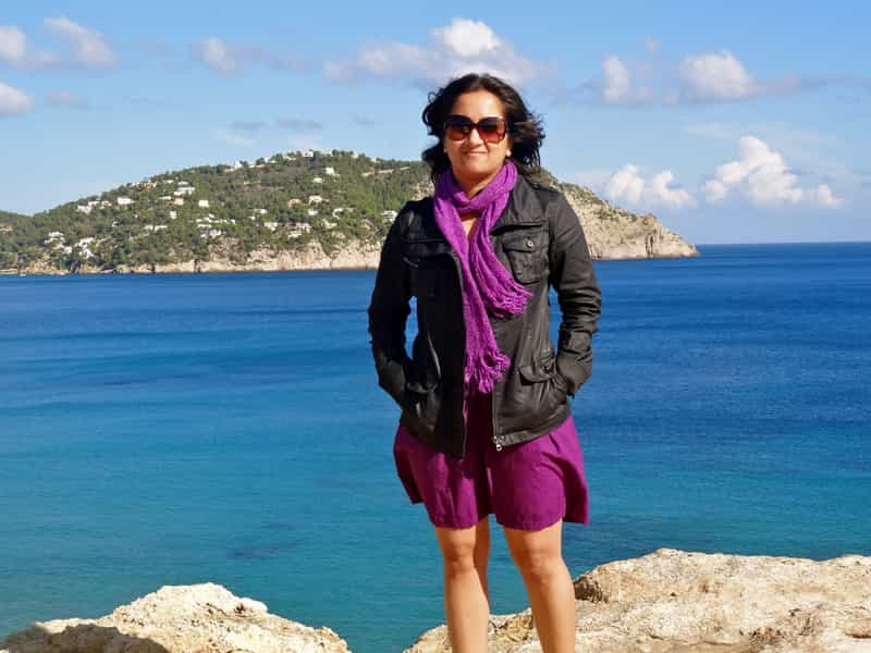 Shivya Nath of The Shooting Star in Ibiza