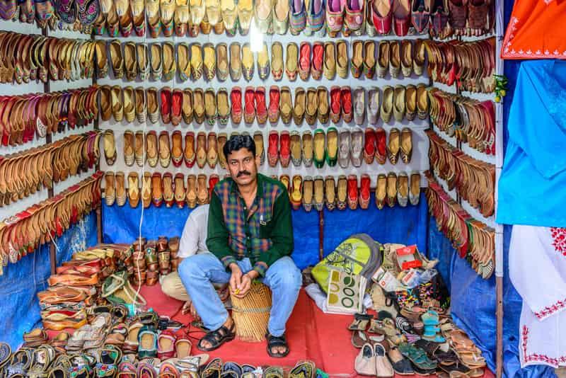 Shoe Market at Lajpat Nagar