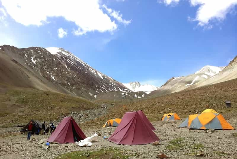 Stok Kangri Trek Base Cam