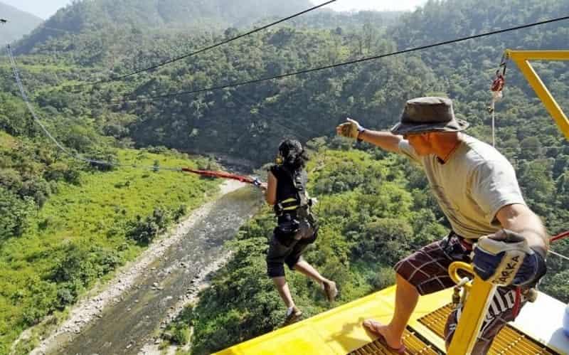 Take the leap in Rishikesh