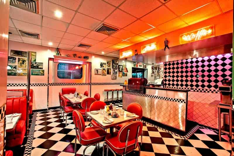 The All American Diner is a must try and a favourite with Dehlites