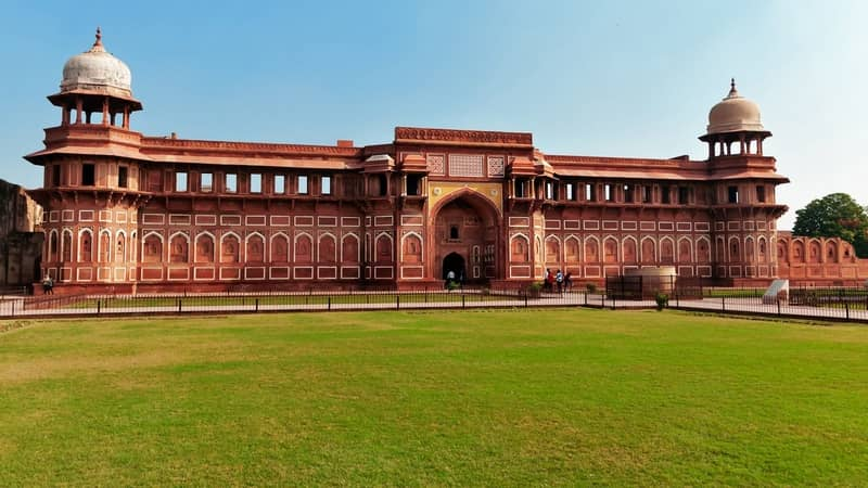 The Jahangiri Agra fort