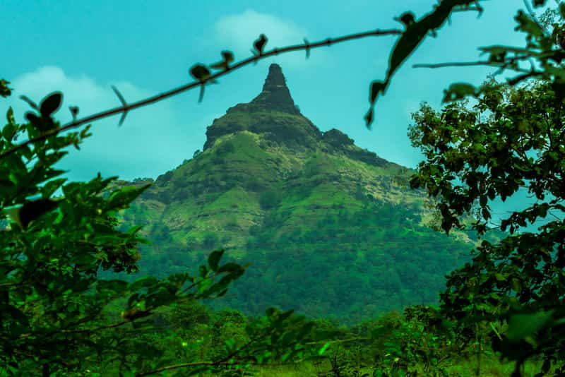 The Mahalaxmi mountain at Palghar.