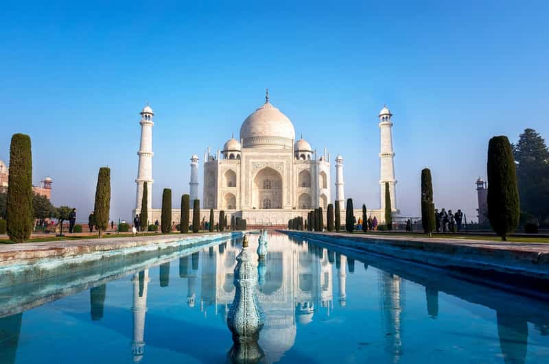 The Taj Mahal is a must see in Agra