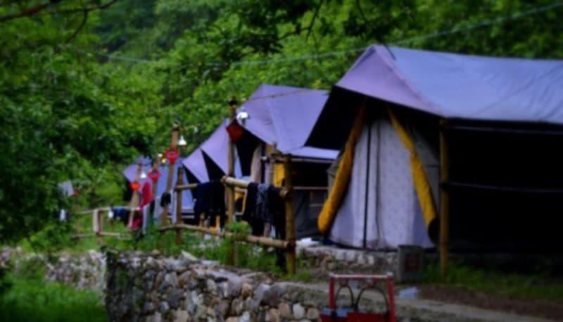The campsite at Lansdowne